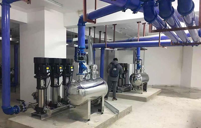 斯科供水浅析无负压供水设备几点技术突破